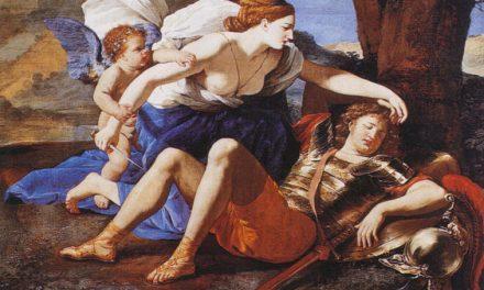 La conversione amorosa di Armida nel dipinto di Poussin