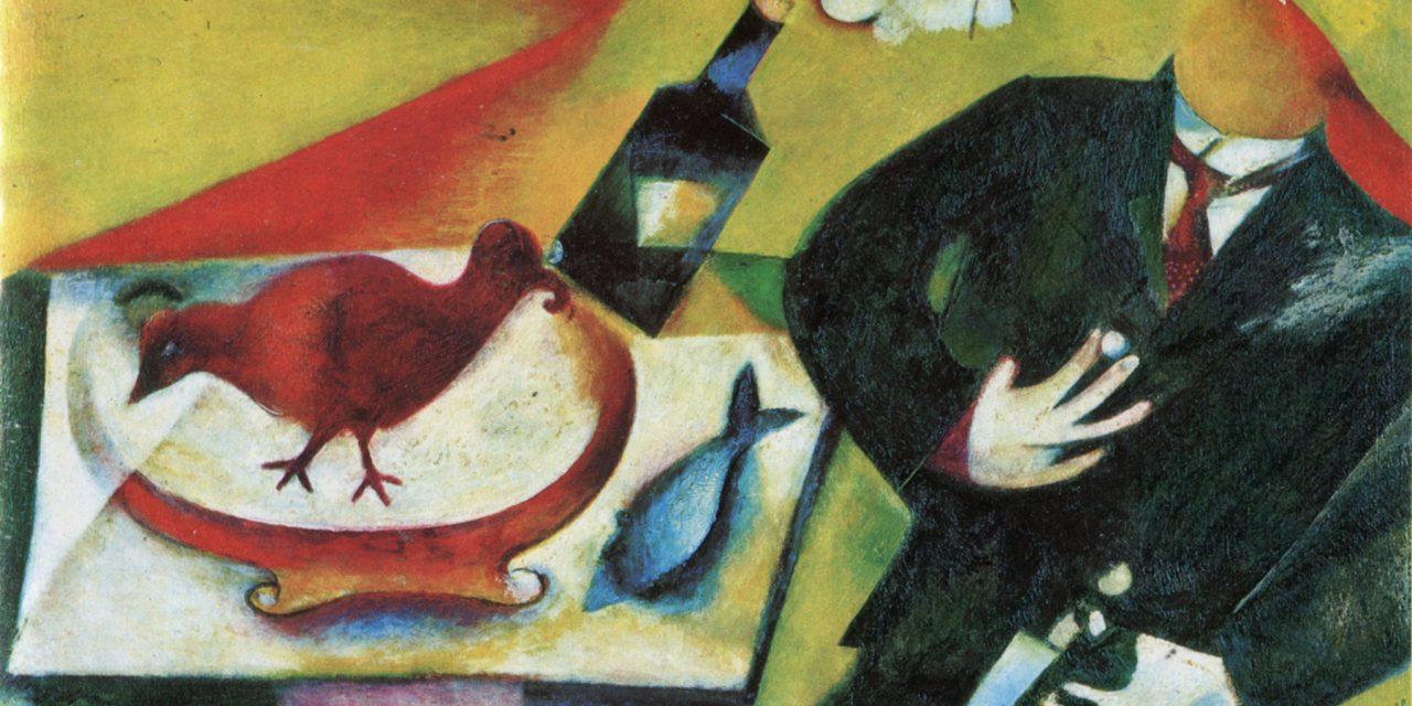 Marc Chagall nel blu dipinto di blu